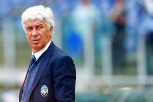 Gasperini was unhappy with the side's transfer dealings in the summer
