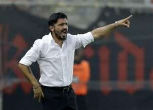 Gattuso will be looking to steer Milan to back-to-back finals.