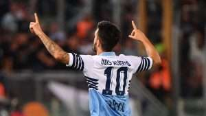 Luis Alberto's production has dropped but he still plays a pivotal role in Lazio's system.