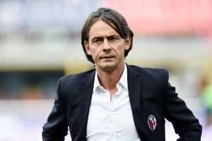 Plenty for Filippo Inzaghi to ponder as he tries to keep Bologna in Serie A. nella foto: Filippo Inzaghi
