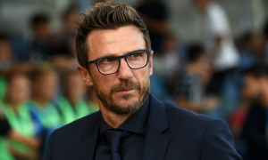 Di Francesco has been unable to deliver consistent results for Roma this season.