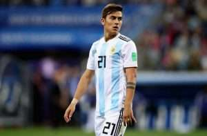 Dybala endured a nightmare World Cup in 2018.