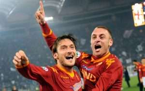 Roma's two most capped players have been iconic leaders at the club.