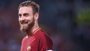 Roma have missed De Rossi's leadership in midfield recently.