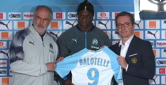 784f7d70935f3 Official | Olympique Marseille sign Mario Balotelli | Get Italian ...
