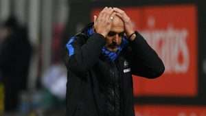 Spalletti's Inter are struggling for the second mid-season on the trot.