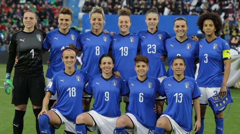 Le Azzurre return to World Cup after 20 years | Get ...