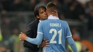 Inzaghi has done a fine job of guiding Milinkovic-Savic at Lazio