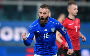 De Rossi earned 117 caps for Italy, winning the World Cup in 2006.